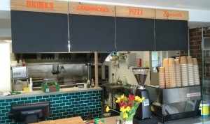 Blackboards with routed headers